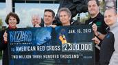Aide pour la Croix Rouge américaine
