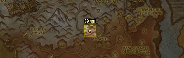 Gumi préfère les montagnes enneigées du Sommet de Kun-Lai