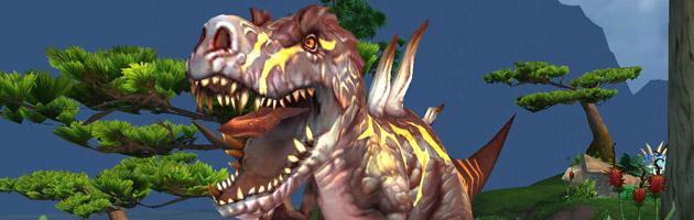 De nombreux Diablosaures, de différents coloris, occupent l'Île des Géants