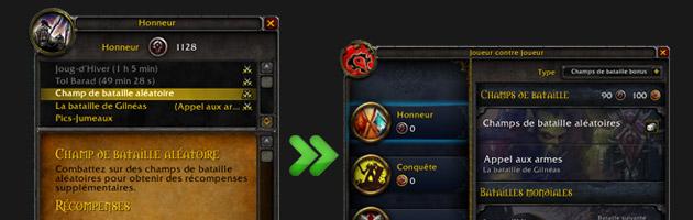 Une toute nouvelle interface PvP prendra place au patch 5.2