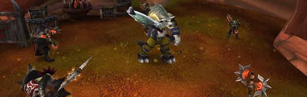 Gamon entouré de gardes Kor'kron au patch 5.3