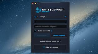Découvrez l'interface afin d'entrer vos identifiants