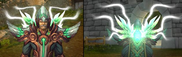 Les capes légendaires se pareront d'effets visuels liés aux 4 Astres vénérables