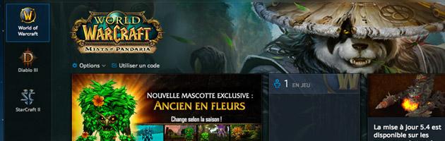 Le nouveau launcher réunit les jeux de la licence Blizzard