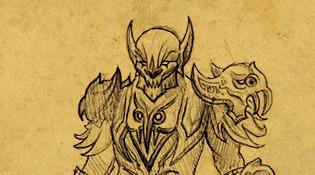 Carapace of the Iron Gargoyle pour Chevalier de la mort