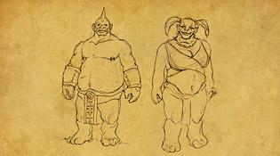 La race Ogre pour la Horde