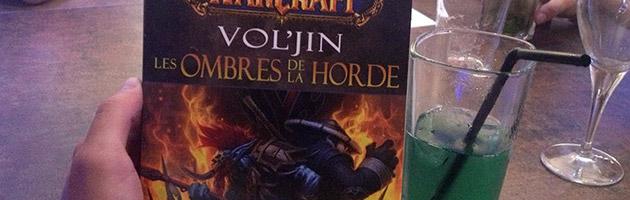 Mamytwink et un des romans Vol'jin : les ombres de la Horde