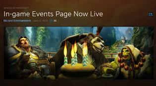 Retrouvez toute l'actualité de World of Warcraft en quelques clics
