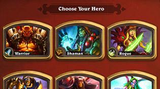 Le premier choix se porte sur le héros