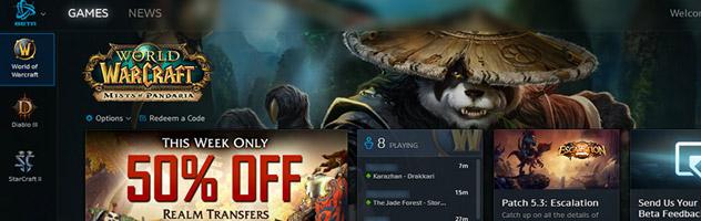 Un tout nouveau launcher regroupant les jeux Blizzard en phase de tests
