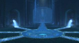 Une salle souterraine du Siège d'Orgrimmar