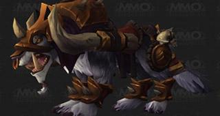La nouvelle monture Kor'kron War Wolf