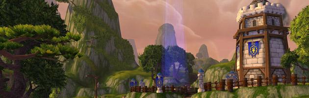 Comme dans le bassin d'Arathi, 15 joueurs de chaque faction s'affrontent pour le contrôle des bases
