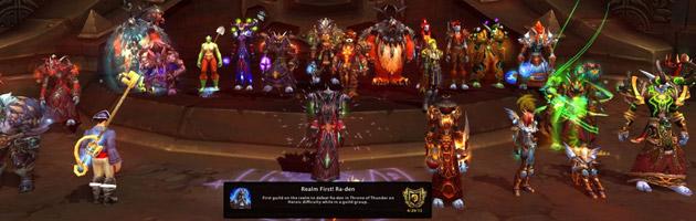 Ra-den défait dans les trente essais impartis par Blizzard