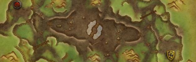 Il y a trois mines à contrôler dans le champ de bataille