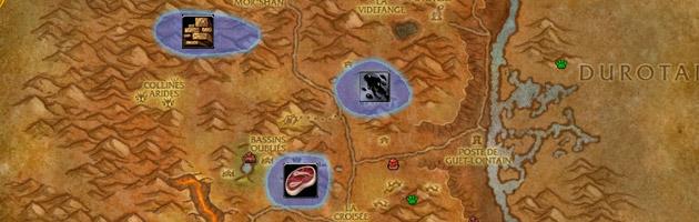 Voler directement les marchandises aux camps Kor'krons