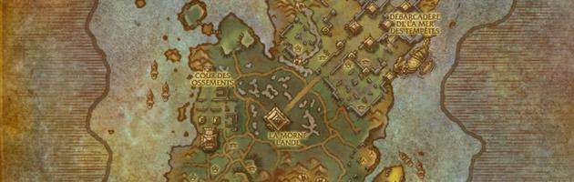 L'Île du tonnerre est située au large de la Pandarie