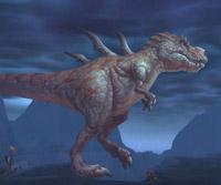 Kroshik le diablosaure de l'Île du tonnerre