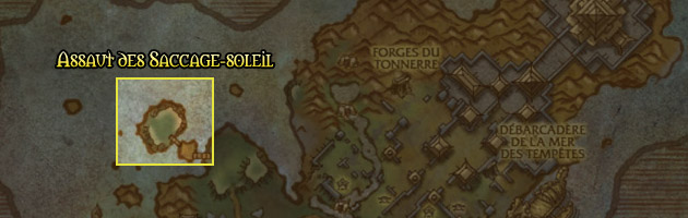 Le chef-lieu de l'Assaut des Saccage-soleil se situe au Promontoire de Cherchelaube