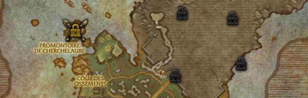 Progresser étape par étape dans l'Île du tonnerre