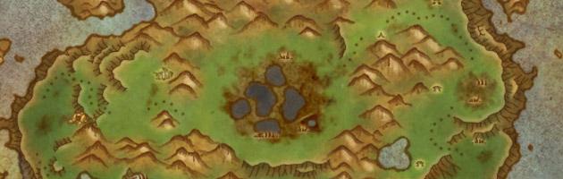 L'Île des géants est située au nord du Sommet de Kun-Lai