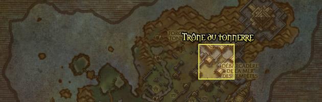 Le Trône du tonnerre vous attend à l'extrêmité nord de l'île