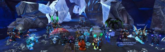 La guilde Exodus tombe Tortos en 25HM dans le Trône du tonnerre