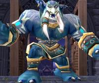 Ramuk, Champion de Lei Shen