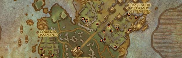 Les coffres contenant le trésor du roi-tonnerre sont dispersés à travers l'Île du tonnerre