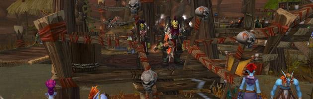 Les Kor'kron chassent les Trolls d'Orgrimmar