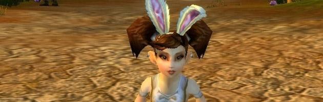 Posez les oreilles de lapins sur les personnages féminins que vous croisez !
