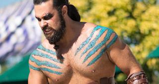 Khal Drogo, vainqueur du concours de cosplay