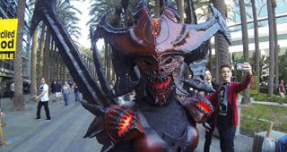 Magnifique cosplay de Diablo
