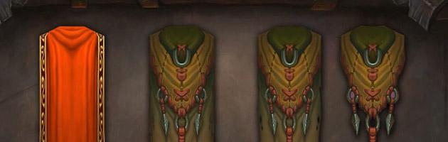 Warlords of Draenor : nouveaux modèles pour les capes