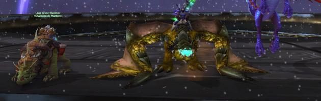 Seavenz et son Proto-drake perdu dans le temps