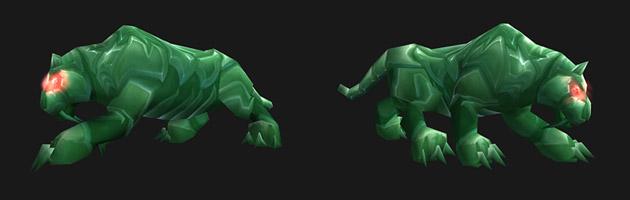 Le tigre de jade est un porte-bonheur célèbre
