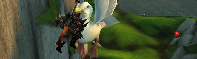 L'albatros vous emmènera aux coffres autrement inaccessibles !