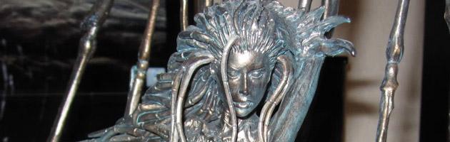 Buste de Kerrigan, personnage de la licence Blizzard Starcraft