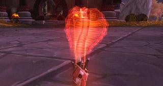 Nouveau totem incendiaire du Chaman