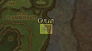 Emplacement de Gulan