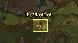 Emplacement de Koukourou