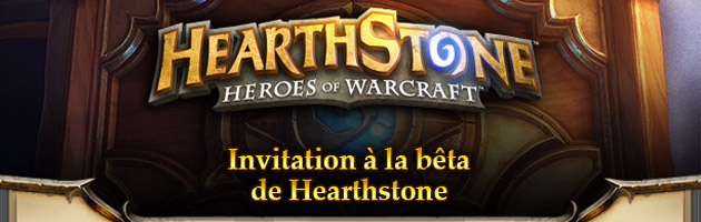 Le mail d'invitation à la bêta de HearthStone
