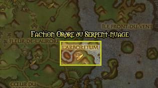 L'Ordre du Serpent-nuage dans la Forêt de Jade