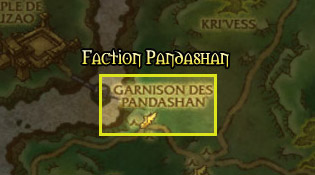 Retrouvez la faction Pandashan à la Garnison des Pandashan