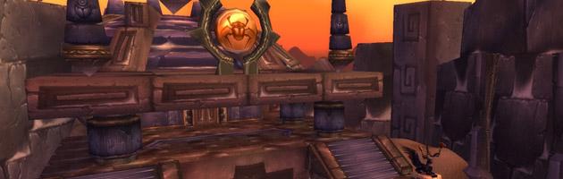 Ahn'Qiraj fut scellé pour la sécurité de tous mais sa réouverture était nécessaire pour vaincre le mal antique qui y sommeillait