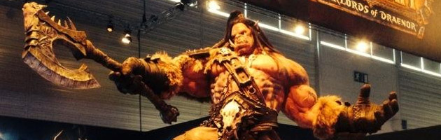 La statue de Grommash réalisée par l'entreprise FX déco