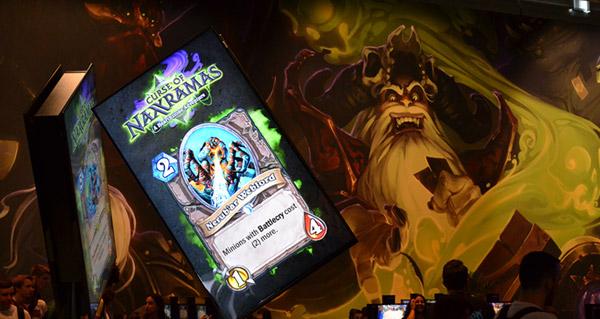gamescom 2014 : une avalanche d'images pour hearthstone