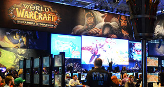 Aperçu du stand Warlords of Draenor