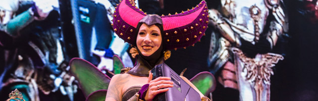 Gamescom : un concours de cosplay haut en couleurs