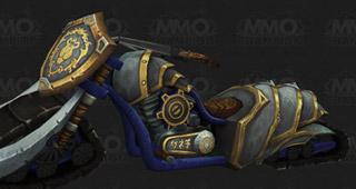 La moto de l'Alliance disponible pour 100 000 pièces d'or